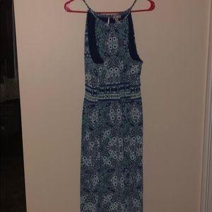 $7 CLOSET CLEAN OUT EUC Print Maxi Dress